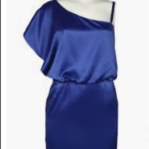 NWT Jessica Simpson One Shoulder Cocktail Dress
